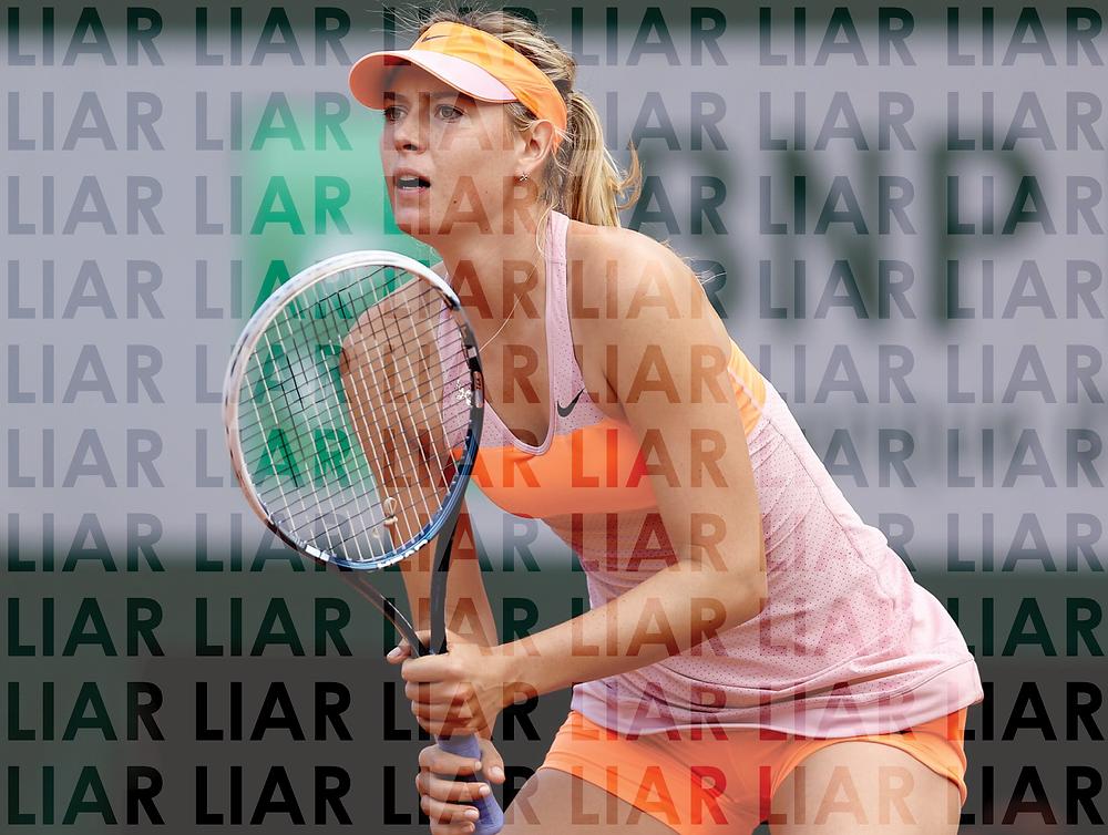 Sharapova Grungs (Commentary)