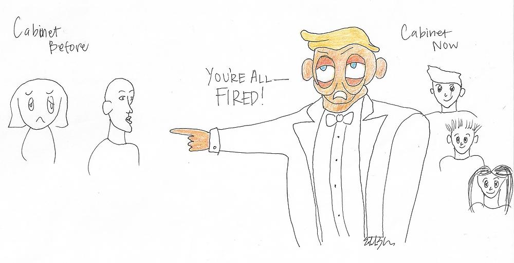 Trump firing cainet (Estelle)