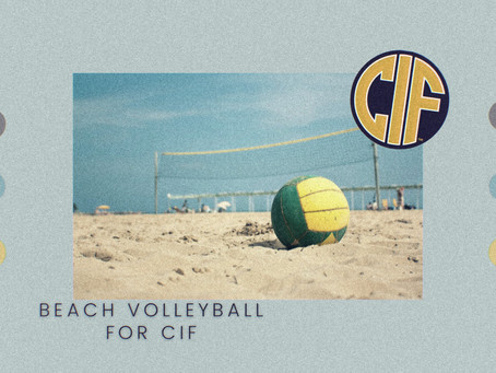 Beach volleyball: how it took CIF to the next level