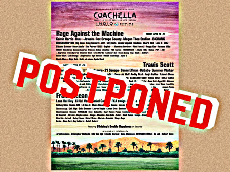 The bright side of Coachella's postponement