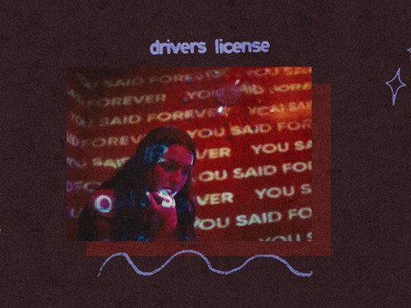 """Olivia Rodrigo is on the road to stardom with her """"drivers license"""""""