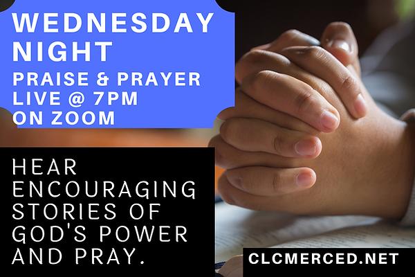 Wednesday Praise & Prayer.png
