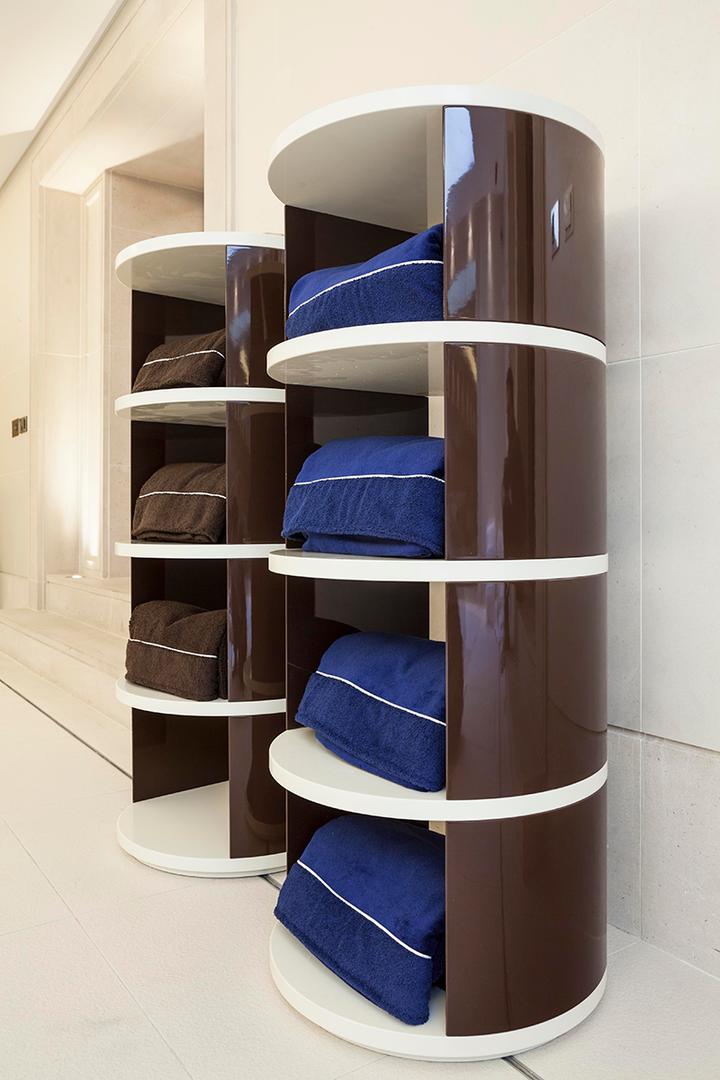 Towel Shelves