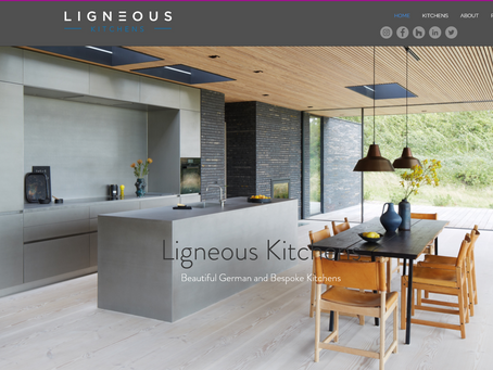 Ligneous Kitchens New Website