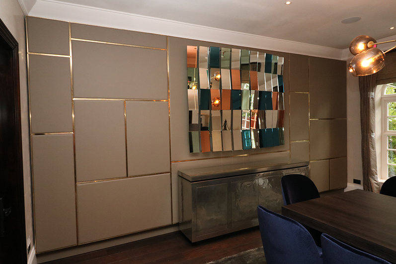 Dining Room panelling