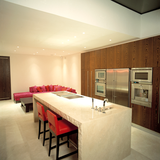 Contemporary Townhouse Kitchen