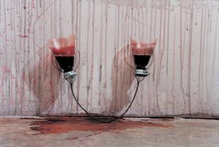 'Braided Wire Wine Glass', 2000