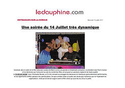 Fx deejay Show article de presse / Journal