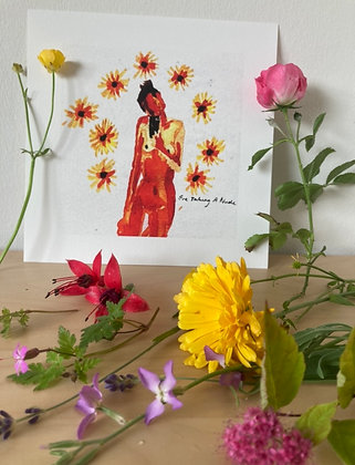Print (sunflowers)