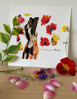 Print (pansies)