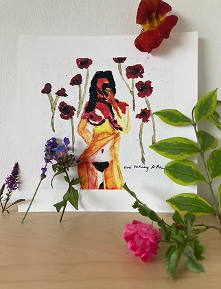 Print (poppies)