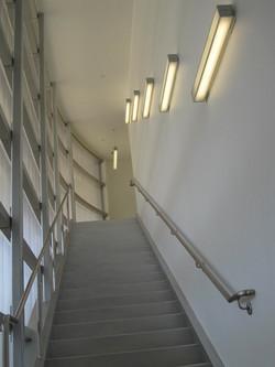 Lit Stairwell