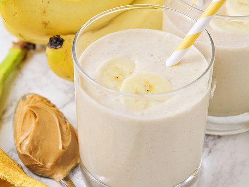 Peanut Butter Banana Cookie Smoothie
