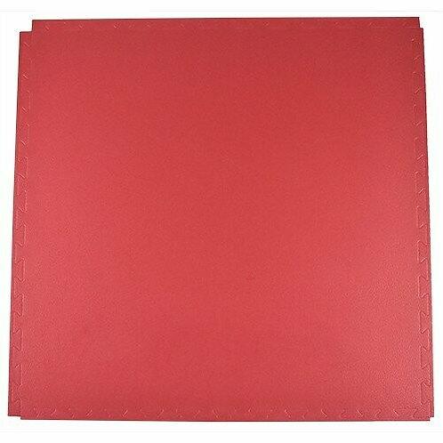 9Round Karate Mat Red