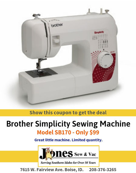 $99 - Brother Sewing Machine