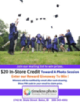 $20 In-store Credit Giveaway