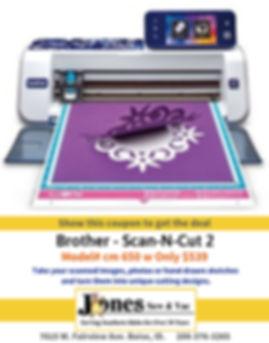$539 - Brother Scan-N-Cut 2