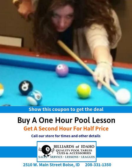 Half Off Pool Lessons