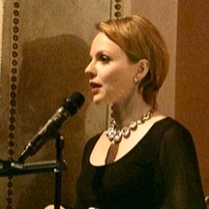 Magdalena Baczewska at Columbia Universi
