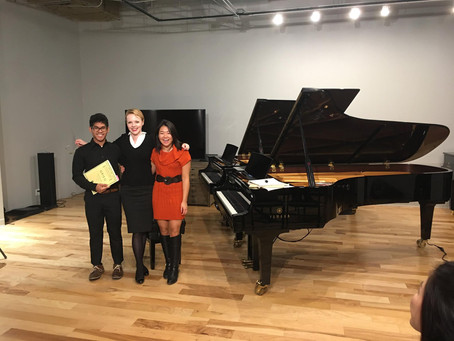 Master Class at the New Music School