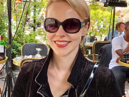 Magdalena Baczewska arrives in Paris to teach Music Humanities at Reid Hall, Columbia Global Center
