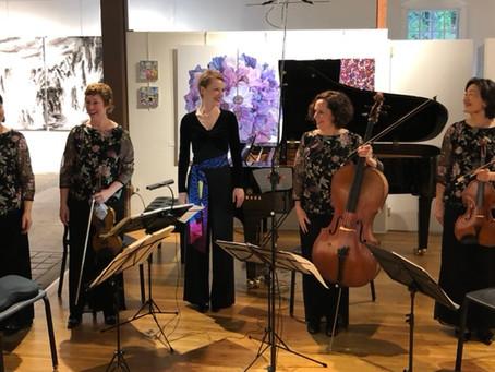 Magdalena Baczewska and The Cassatt String Quartet perform Schumann's Epic Piano Quintet at the