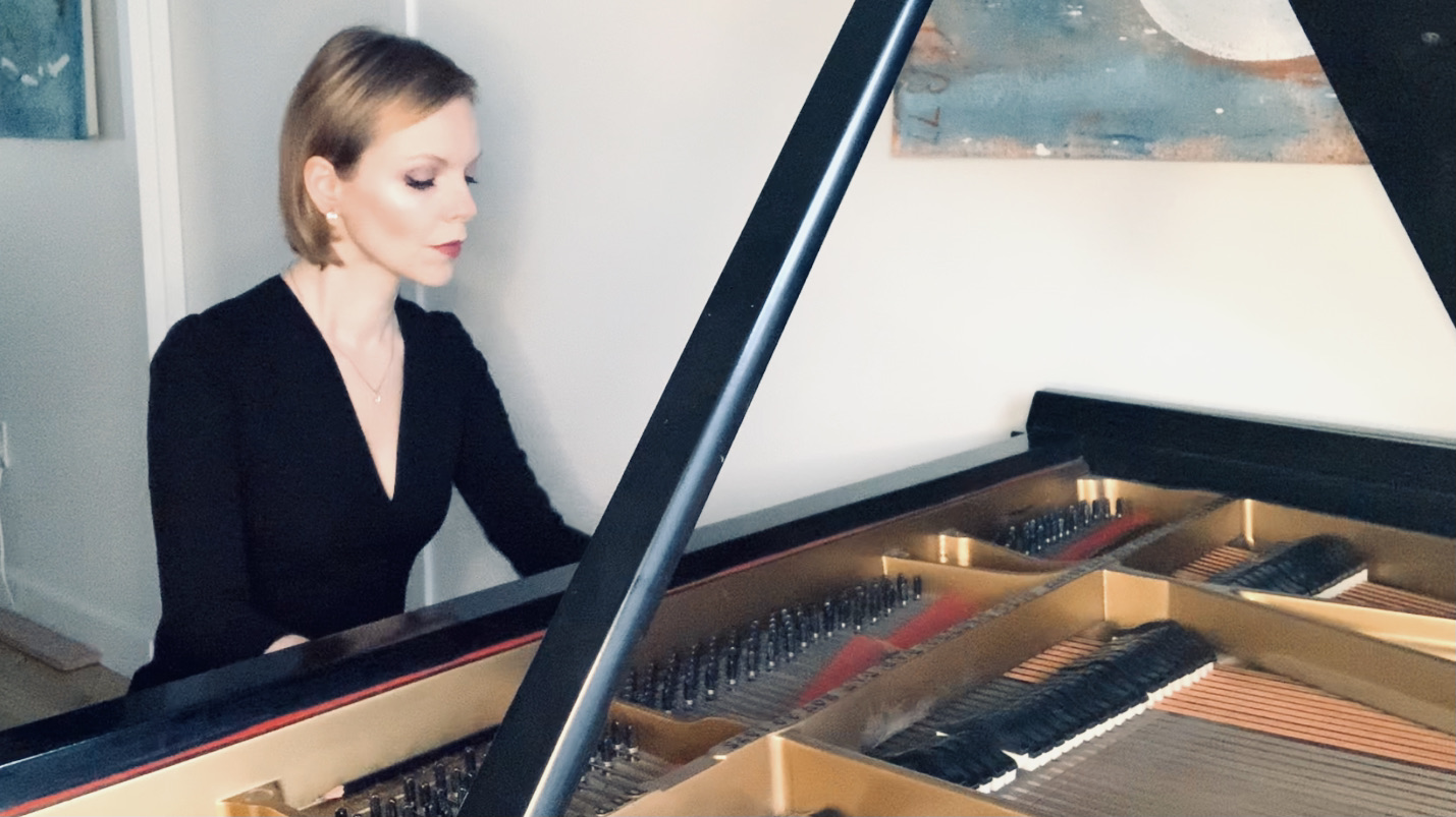 "Magdalena Baczewska ""Bach at Home"" YouTu"