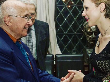 Meeting Prof. Roald Hoffmann