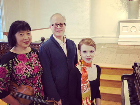 Magdalena Baczewska and Muneko Otani world premiere met with standing ovation in Jamesport, NY