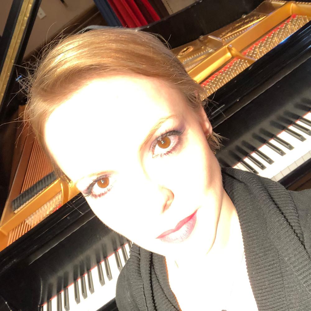 Magdalena Baczewska Records Debussy on Yamaha Disklavier, in an Audio-Free Session