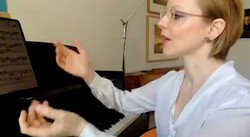 Magdalena Baczewska virtual masterclass at the Intercollegiate Chamber Music Festival