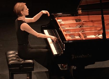 Magdalena Baczewska Gala Artist in Paderewski Fest, Paso Robles, California