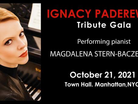 Paderewski Gala at the Town Hall
