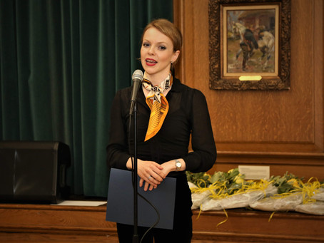 Magdalena Baczewska is Artistic Director and the Chairman of the Jury of the 66th Kosciuszko Foundat