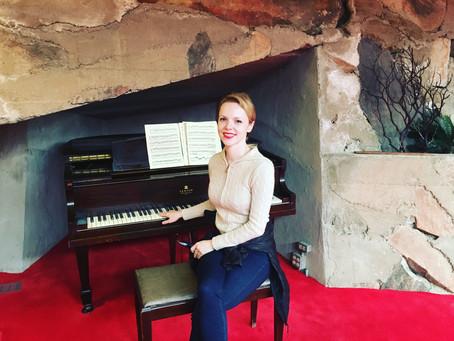 Magdalena Baczewska Visits Frank Lloyd Wright's Taliesin West