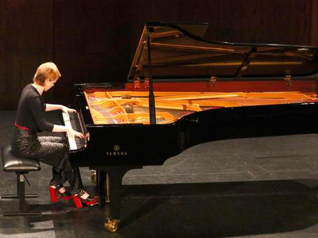 Magdalena Baczewska in Recital at the International Keyboard Institute, Hunter College