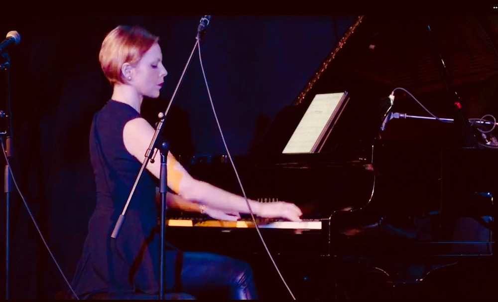 Magdalena gave a world premiere of the meditative Prelude and Fugue for piano solo at the Composers Concordance season opening concert celebrating Gene Pritsker @50.