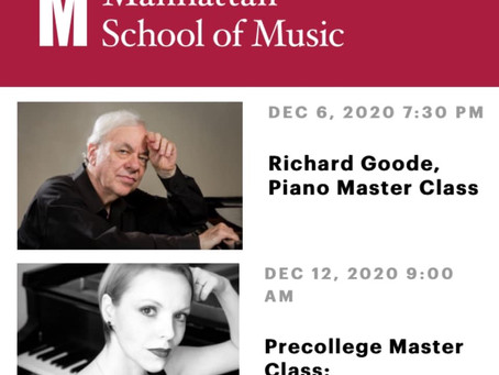 Manhattan School of Music Precollege Piano Masterclass