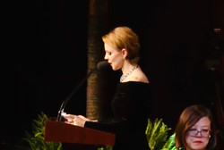 Magdalena Baczewska hosts the Award Ceremony of the 10th National Chopin Piano Competition in Miami