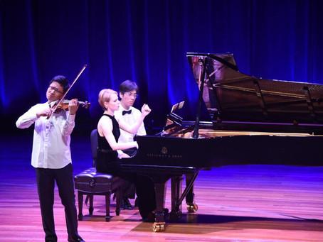 Magdalena performs with Dan Zhu at NYU's Skirball Center