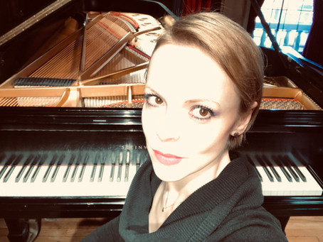 Magdalena Baczewska Records Debussy on Yamaha Disklavier, in an Audio-Free Session
