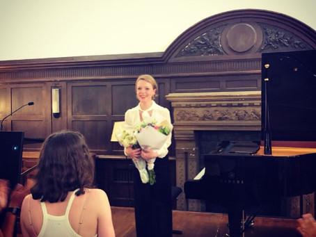 Recital at Reid Hall Paris