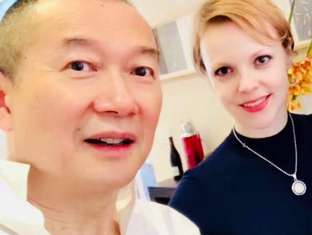 Magdalena Baczewska records the Martial Arts Trilogy in Shanghai Recording with Tan Dun