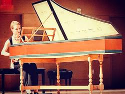Magdalena Baczewska harpsichordist