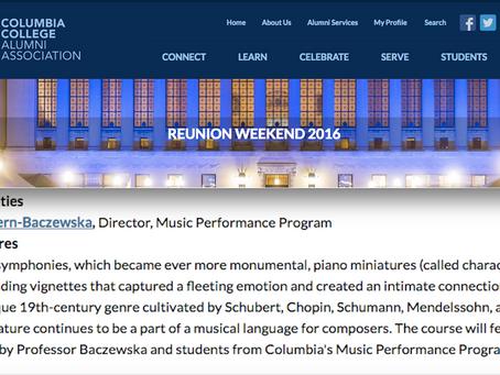 Columbia Alumni Reunion