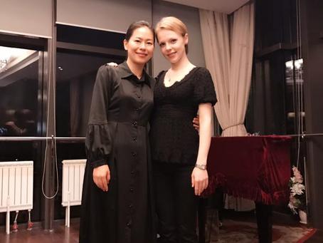Magdalena Baczewska Conducts Master Classes in Beijing, China