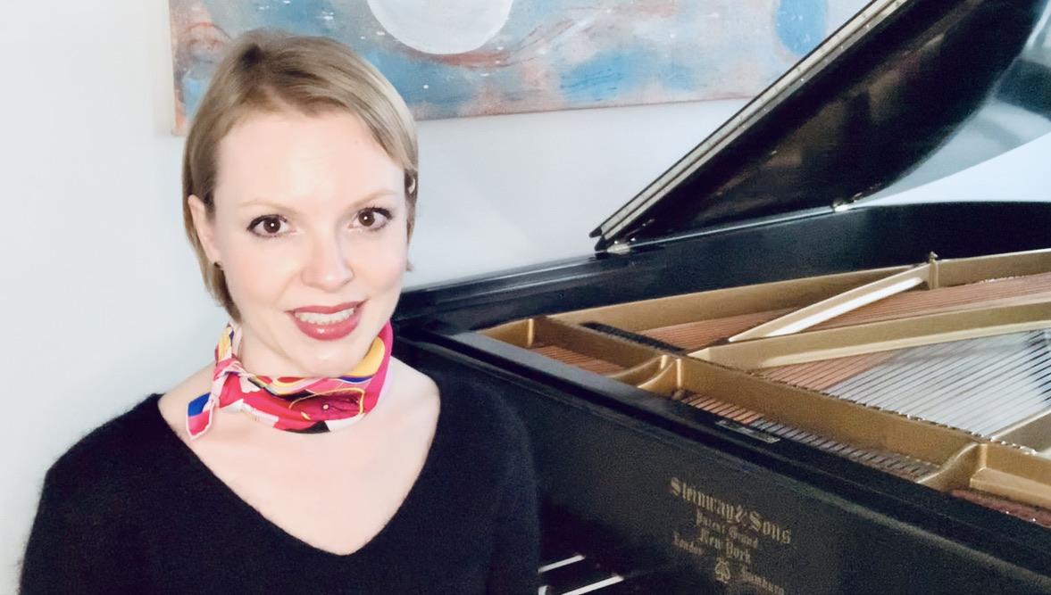 Magdalena Baczewska's Bach@Home YouTube series