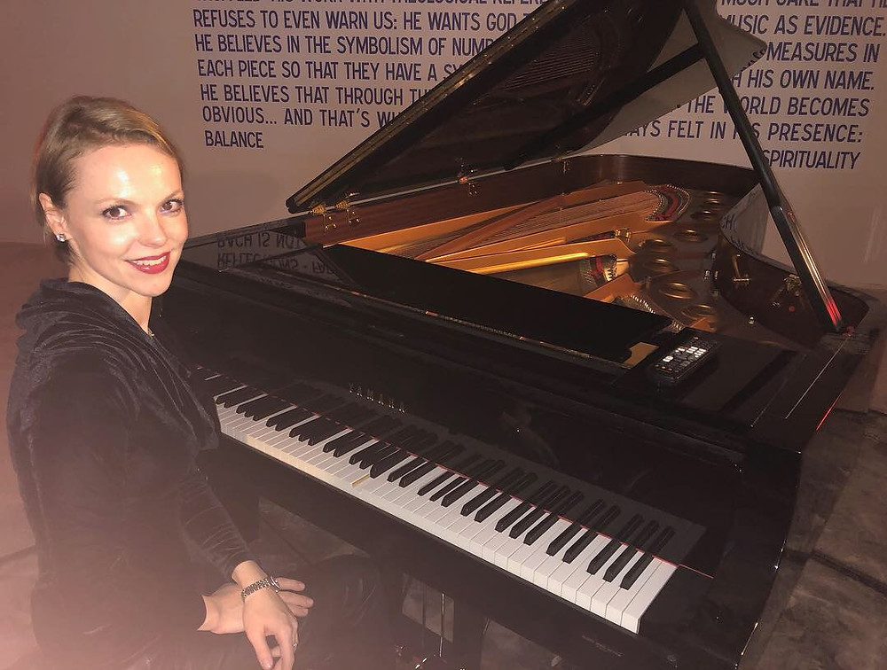 Magdalena Baczewska Performs at The Bach Store in Midtown Manhattan