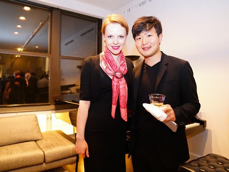 Magdalena Baczewska celebrates the 20th Anniversary of the International Keyboard Institute with pia