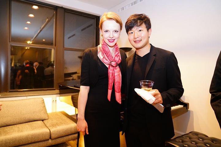 Magdalena Baczewska and Yekwon Sunwoo